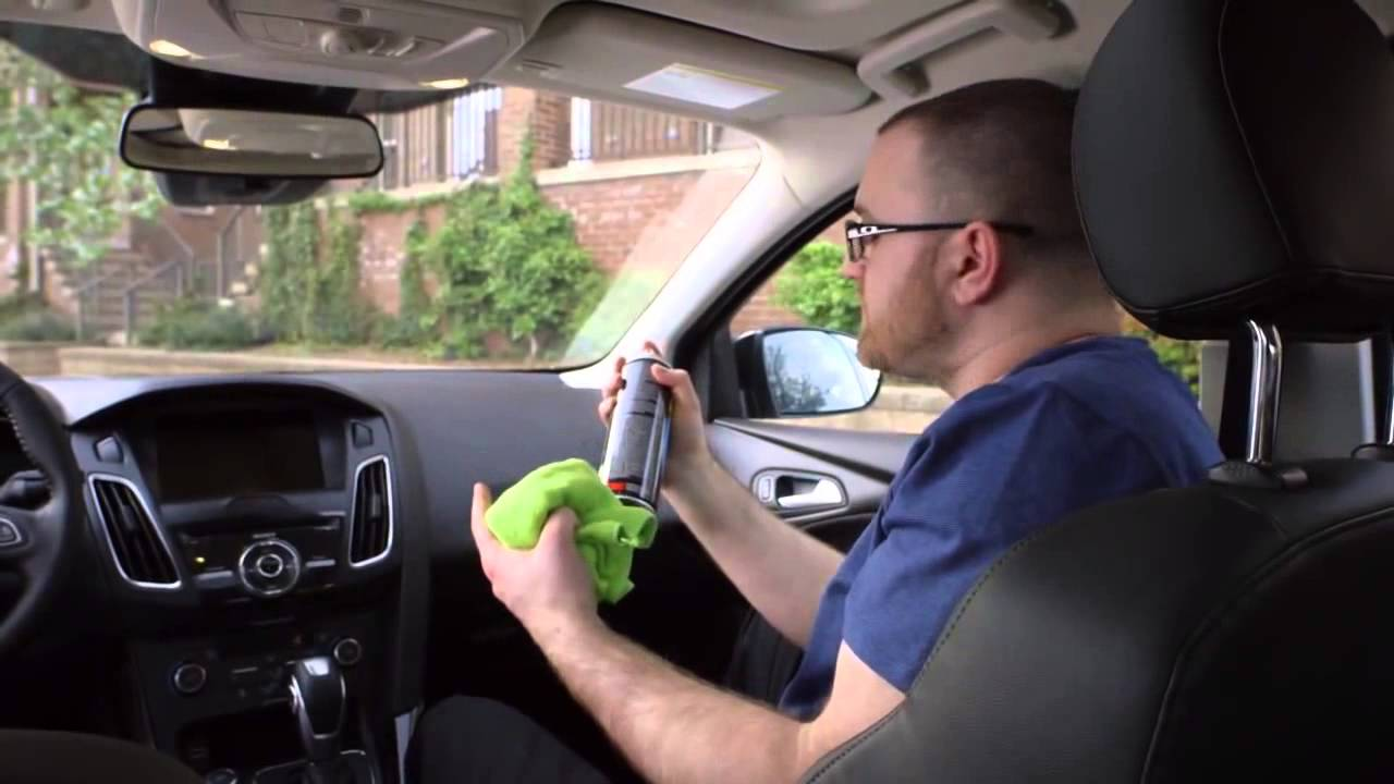 how to get rid of stale smoke smell in car