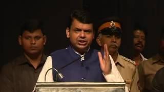 CM Devendra Fadnavis at Mumbai CCTV Launch