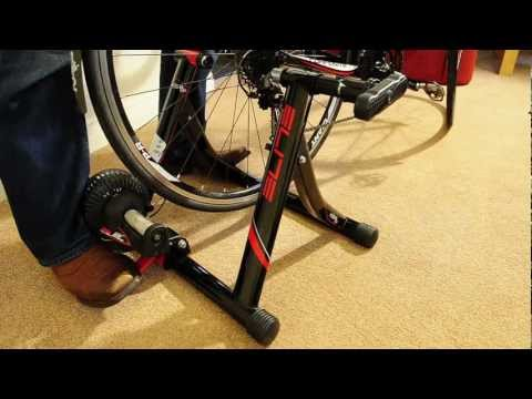 Elite Volare Mag Cycle Turbo Trainer Review / Setup / Noise Demo