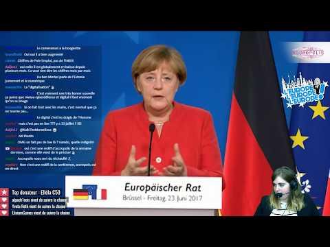 M&M's : de nouvelles couleurs pour l'Europe ? - Conférence de presse Macron/Merkel