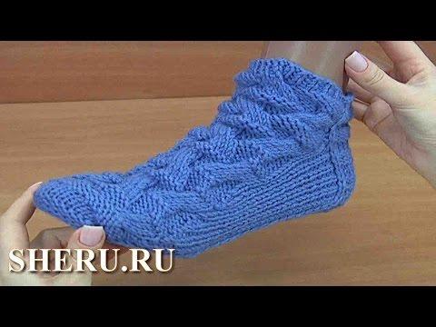 вязание носков видео уроки