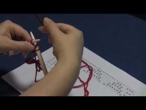 How To Read A Lace Knitting Chart Part 1 Youtube