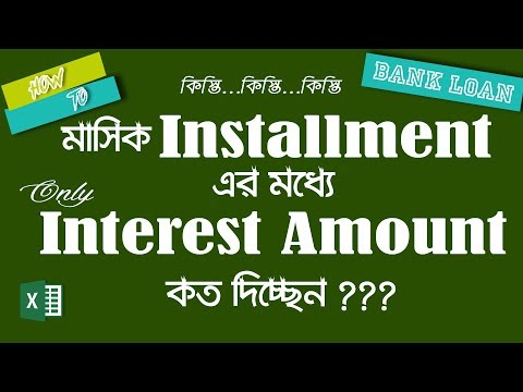 Bank Loan Interest Calculation: How To Calculate Bank Loan Interest Amount | IPMT Function