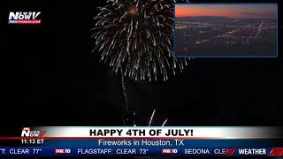 4TH OF JULY CELEBRATIONS: Watch fireworks across the country