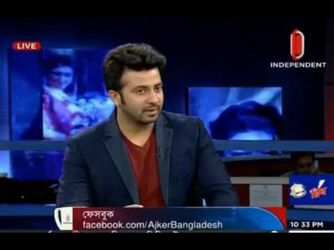 Sakib Khan live on TV news Talk about Apu Biswas and his baby