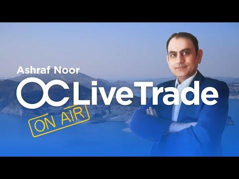 [URDU] Live trading session 9.08 with Ashraf Noor   OctaFX Forex Trading