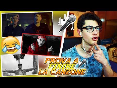 PROVA A FINIRE LA CANZONE! *canzoni italiane* 99,9% IMPOSSIBILE CHALLENGE