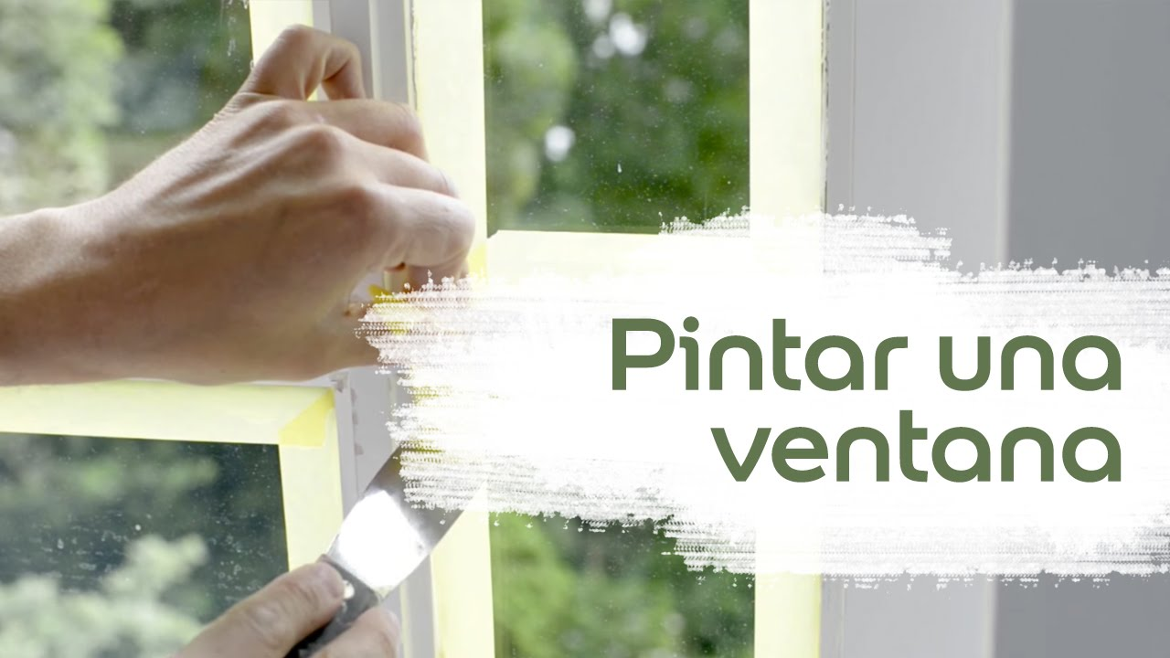 Vídeo Tutorial: Cómo Pintar una Ventana - Bruguer - YouTube