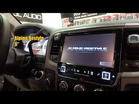 "Dodge Ram Alpine Restyle (9"" Screen)"
