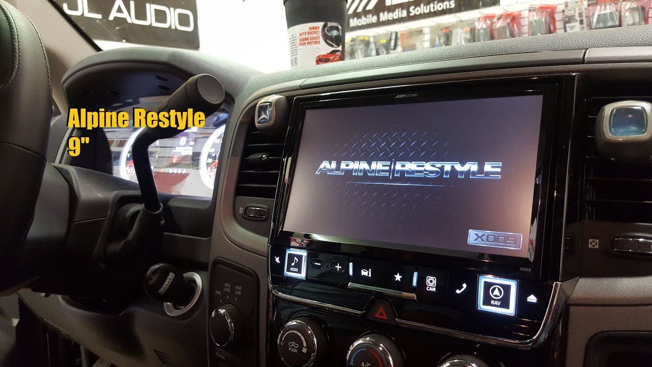 Dodge       Ram    Alpine Restyle  9  Screen    AnthonyJ350  YouTube