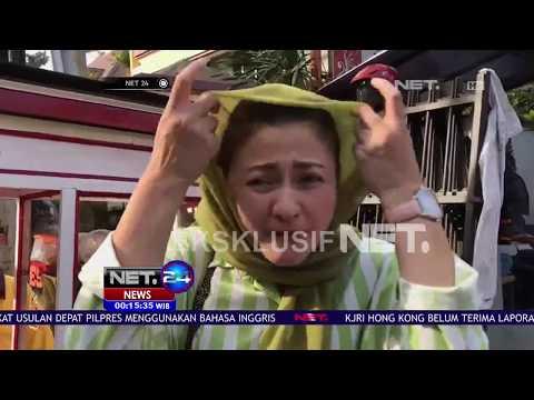 Istri Setnov Beli Es Podeng Ketemu Wartawan NET, Diwawancara Soal Sel Suaminya - NET24