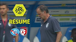 Video RC Strasbourg Alsace - LOSC (3-0)  - Résumé - (RCSA - LOSC) / 2017-18 download MP3, 3GP, MP4, WEBM, AVI, FLV Oktober 2017
