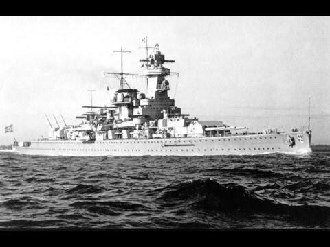 La fine della Graf Spee.