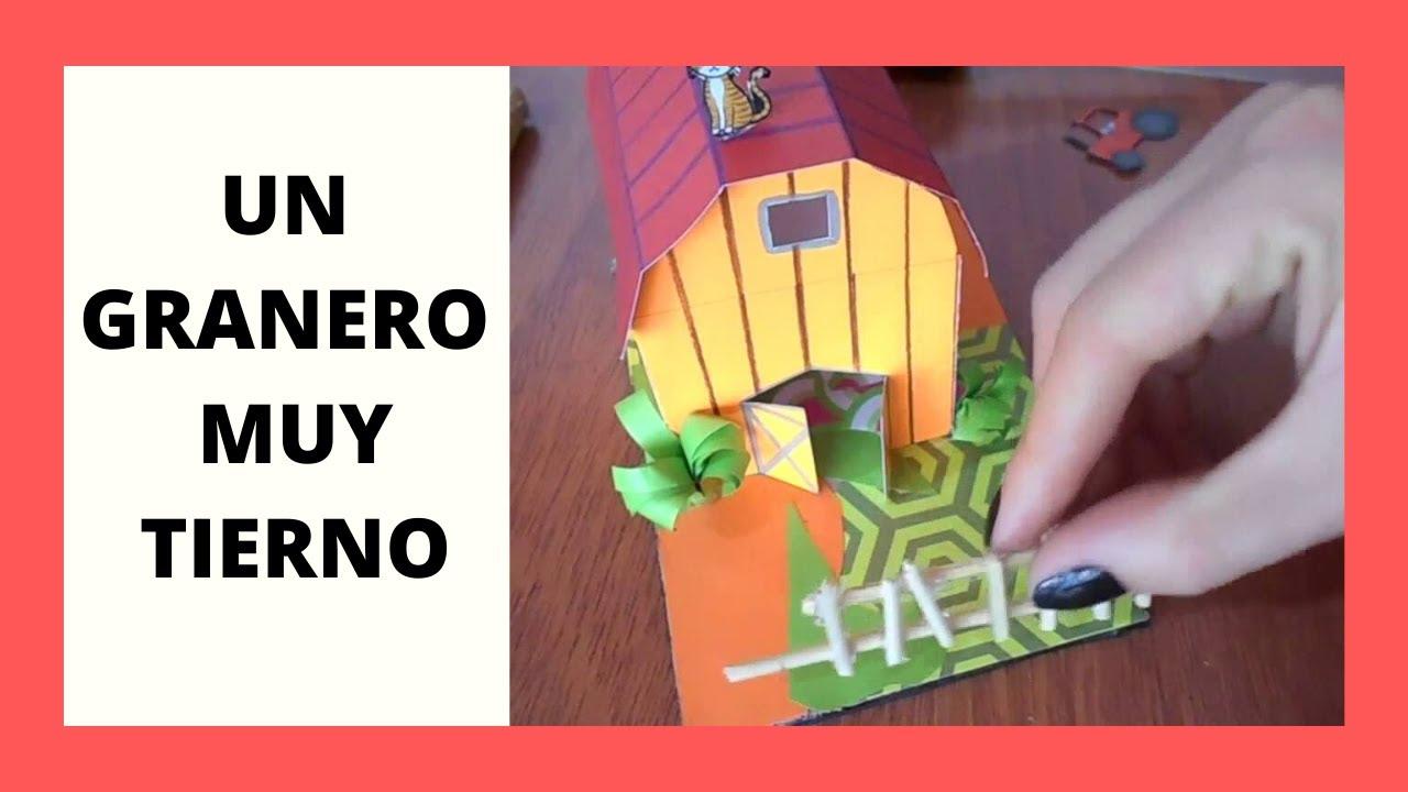 Como hacer un granero miniatura juguete para ni os for Como hacer una granja de peces