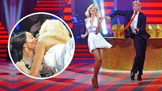 Скандальный поцелуй Поляковой и Кухар в прямом эфире Танцев со звездами!