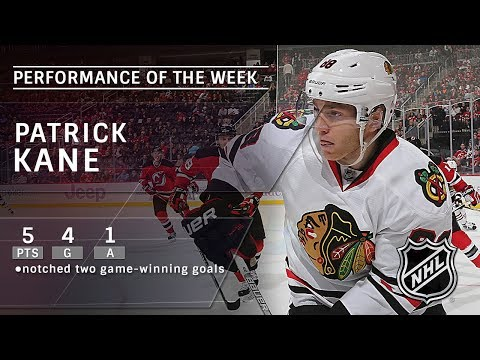 Patrick Kane wins game twice for Hawks, records five points in three games