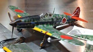タミヤ 1/48 川崎 三式戦闘機 飛燕の迷彩塗装テクニック