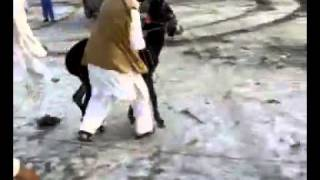 Pathan Khatak Dance And One Wheeling With Donkey HaHaHaHaHaHa