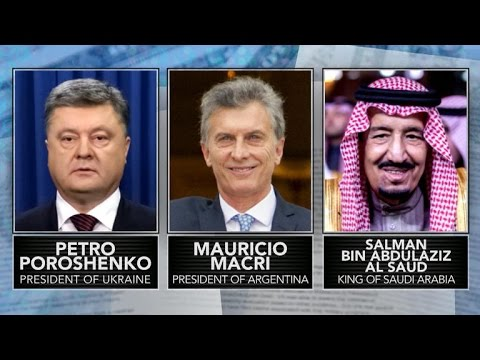 """""""Panama Papers"""" exposes world leaders' money secrets"""