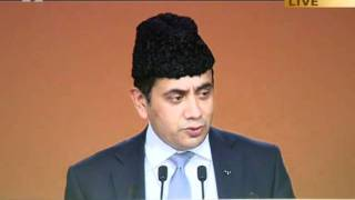 Lord Ahmad of Wimbledon at Ahmadiyya Muslim Jalsa Salana UK 2011