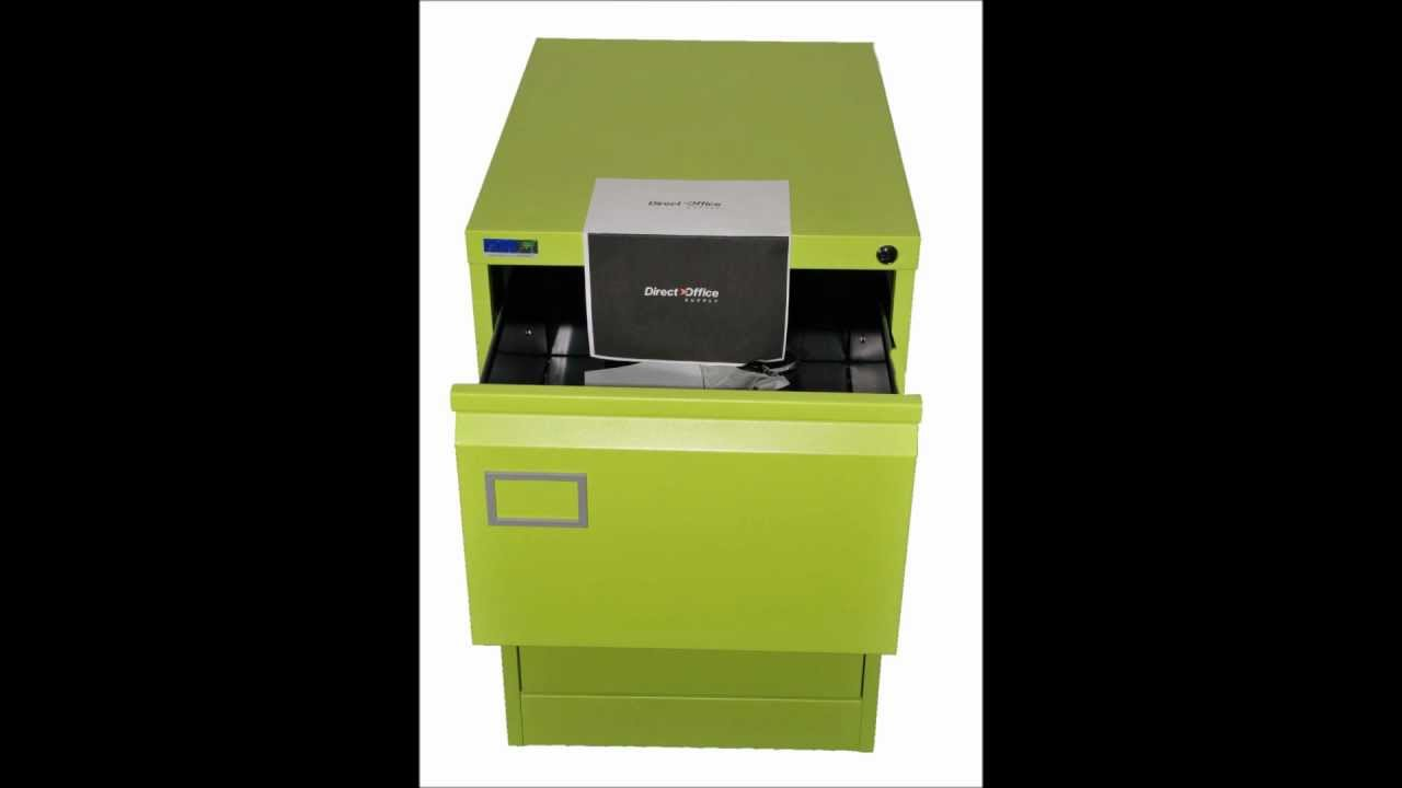 Green File Cabinet Lime Green Filing Cabinet From The Direct Office Supply Co Youtube