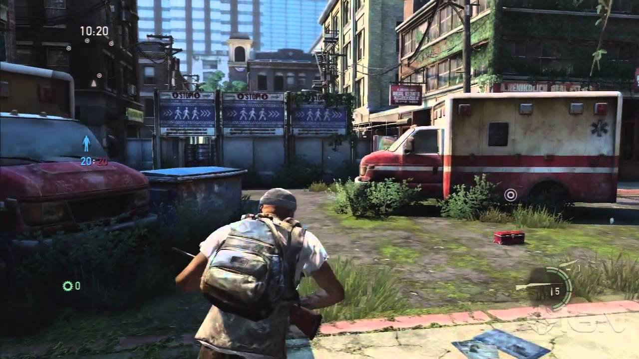 The Last of Us Surviving the Checkpoint YouTube