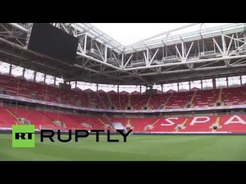 Russia: FIFA applauds World Cup 2018 preparations after Otkrytiye Arena inspection