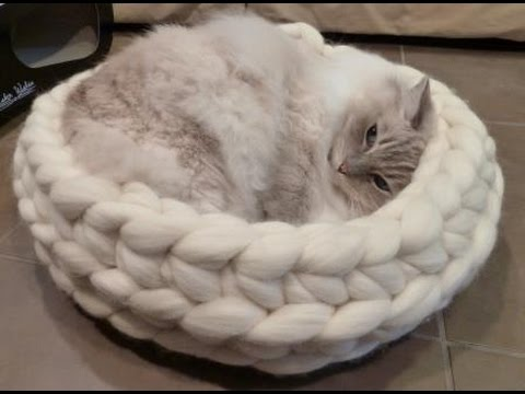 Crochet Cat Bed Video