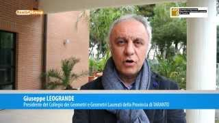 DRONE: intervista Presidente Geometri Taranto