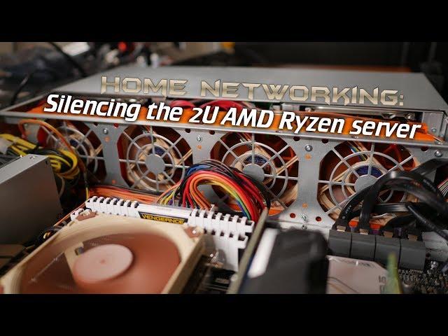 Building a 2U AMD Ryzen server (Hardware configuration + ZFS