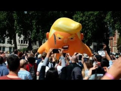 London protestors not aware of substance of what Trump