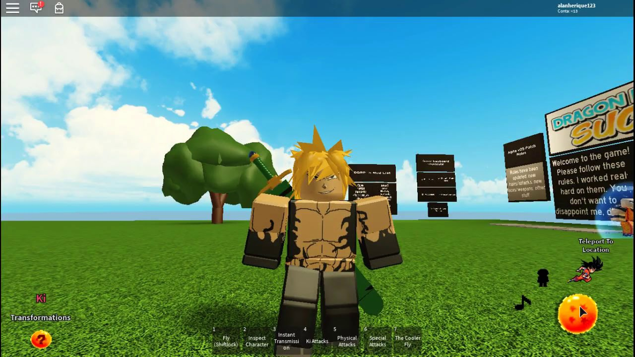 Roblox Escanor Shirt Dragon Ball Rp Successors Alpha V05 Como Fazer O Meliodas Modo Assalto Youtube
