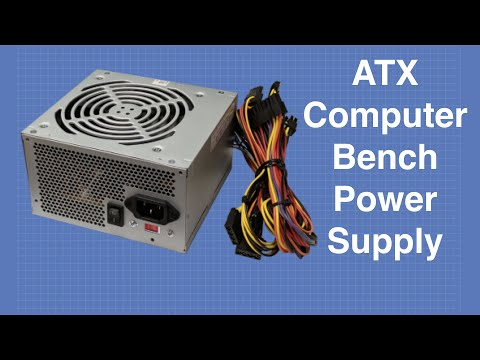 Convert ATX Power Supply to Bench Supply | DroneBot Workshop