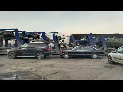 Mercedes W126 уехал в KZ. Разгон до 100. и немного о хейтерах )))