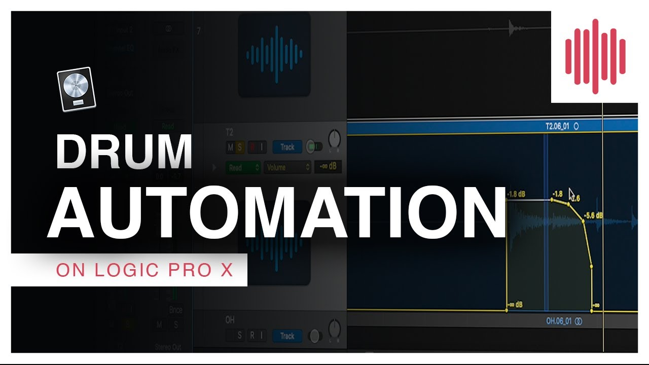 Logic Pro X Tutorial - Drum Mixing Automation (Factory Underground TECH Quick Tip Video)