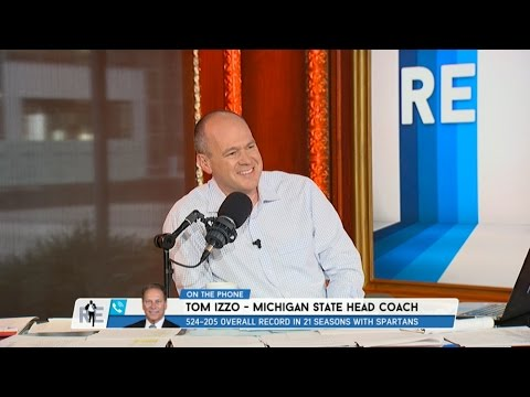 Head Coach Michigan State Basketball Tom Izzo on His Hall of Fame Induction - 9/7/16