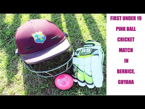 Pink Ball Cricket in Guyana | Albion Sports Complex