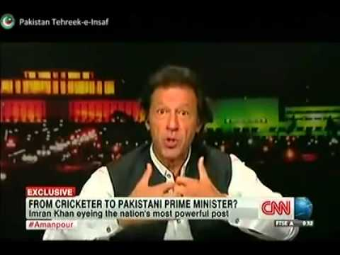 Imran Khan Interview By CNN