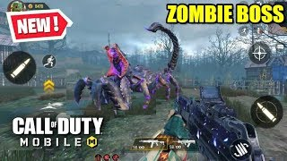 *NEW* ZOMBIE BOSS in Call Of Duty Mobile Zombies ULTRA GRAPHICS