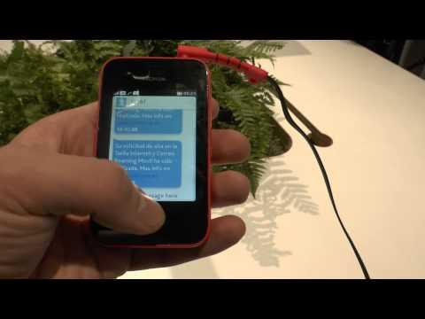 Nokia Asha 230 Smartphone im Hands-On