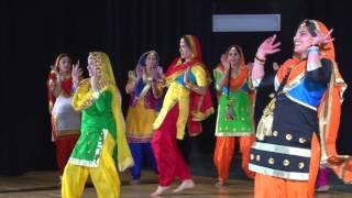 PBA Bhangra Academy's Giddha - Punjaban Mutiyaran