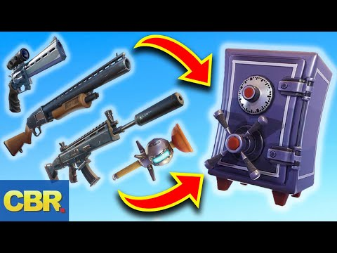 This Is Why Fortnite Vaulted Those Weapons For Season 9