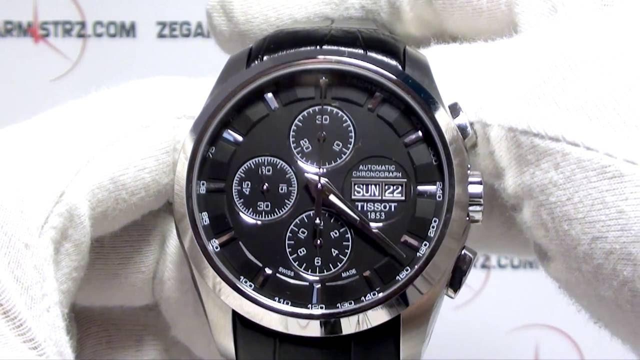 Tissot Couturier Automatic Chronograph A05 60H Power Reserve  T035.614.16.051.02 www.zegarmistrz.com 1e673588d7c5