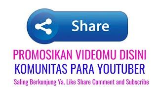 Komunitas Promosi Video Youtube
