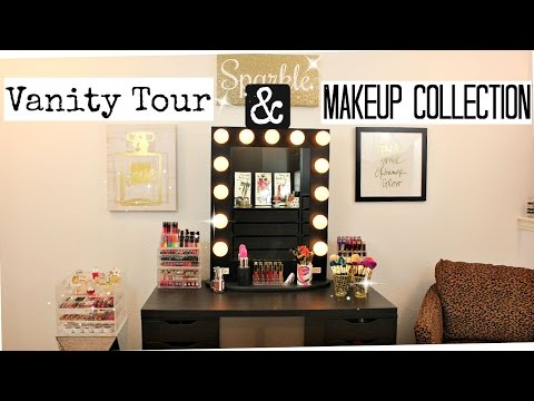 Makeup Collection & Storage | Vanity Tour