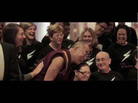 The Transformers Choir - Featuring The Dalai Lama on his Happiness tour of Australia