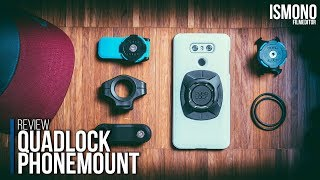 Is this the best Phone mount? Quadlock REVIEW