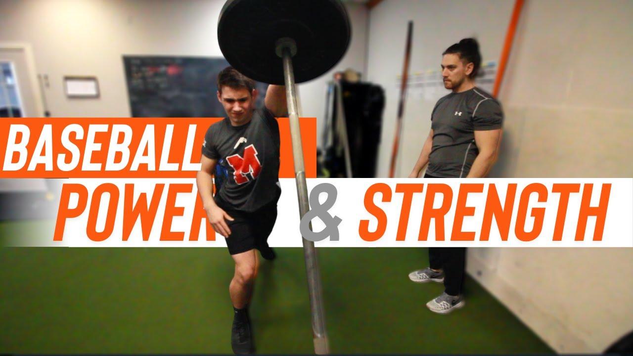 Baseball POWER & STRENGTH Workout | Increase Hitting Power