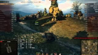 Т-54, Редшир, Встречный бой
