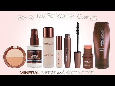 Beauty Tips For Women Over 30 - By Kristen Arnett & Mineral Fusion